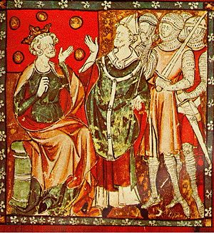 English: Henry II and Thomas Becket