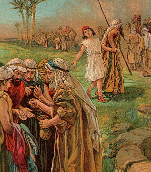 English: Joseph Sold by His Brothers, as in Ge...