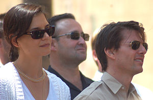 Katie Holmes and Tom Cruise in June 2009.