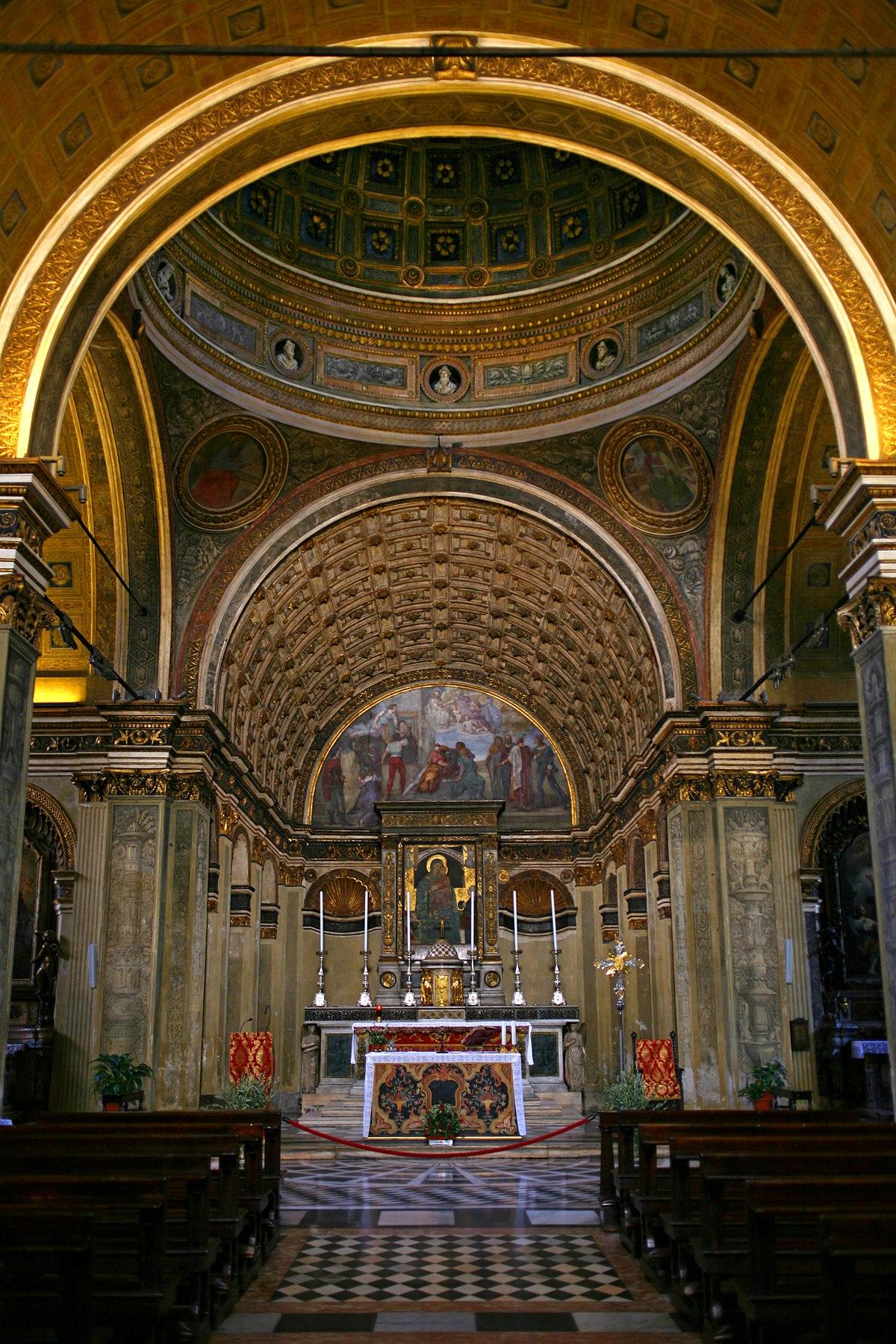 Iglesia de Santa Maria presso San Satiro  Wikipedia la