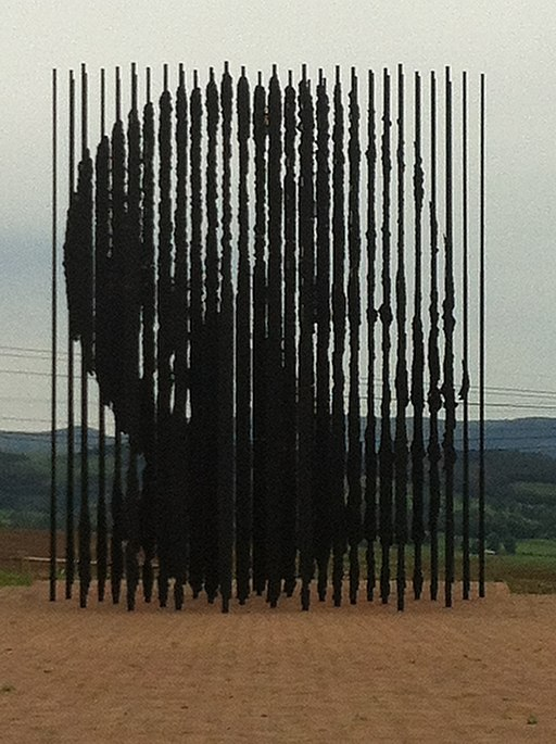 Mandela Capture Site Sculpture Small