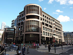 UBS AG Headquarters in London, Liverpool Stree...