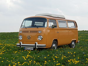 "English: VW T2 ""camper"", nurburgring..."