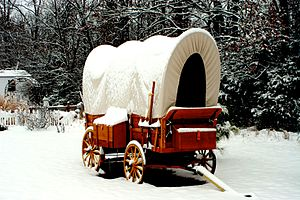 English: Old Western Replica of a Chuck Wagon ...