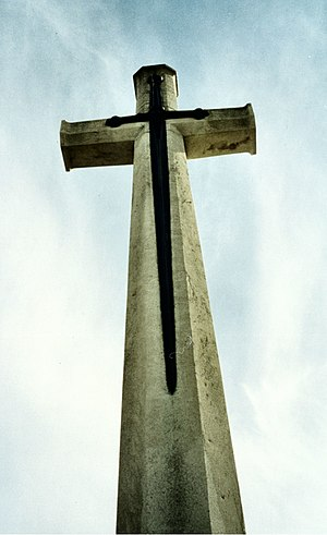 A Cross of Sacrifice (also known as a War Cros...