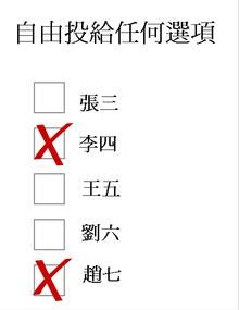 投票制度 - 維基百科。自由的百科全書