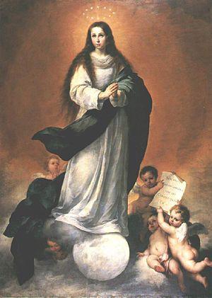 Bartolomé Esteban Perez Murillo - Immaculate C...