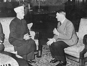 Amin al Husseini and Adolf Hitler
