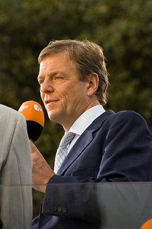 German journalist Claus Kleber attending the s...