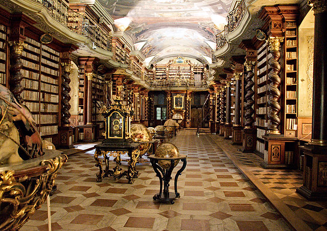 Baroque Library, Prague