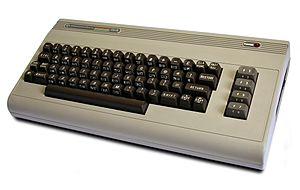 Commodore 64 computer (1982). Post processing:...