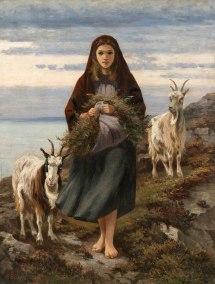 Connemara Girl Augustus Burke