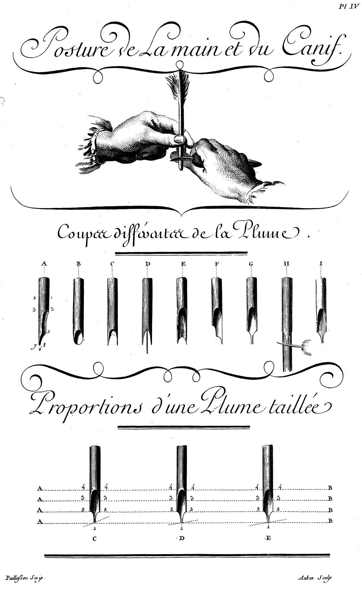 Bec de plume — Wikipédia