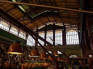 Mercato Centrale in Florence, interior