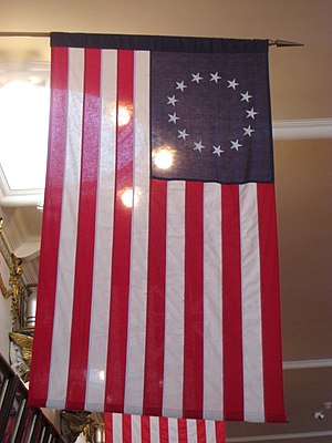 Betsy Ross Flag in the Museum of the Ancient a...