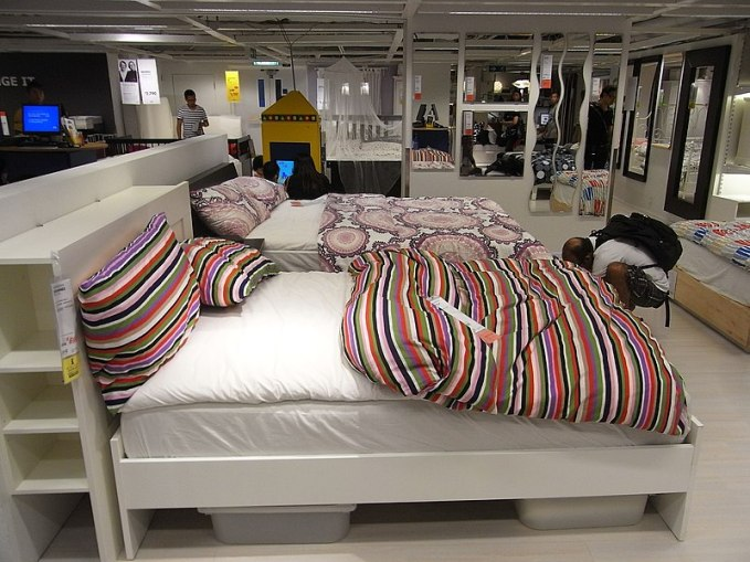 File:HK Causeway Bay IKEA furniture shop interior beds July-2012.JPG