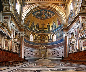English: Basilica of St. John Lateran, Vatican...