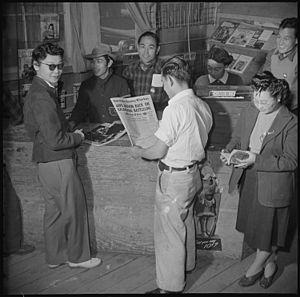 Manzanar Relocation Center, Manzanar, Californ...