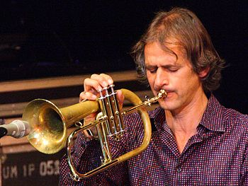 English: Trumpeter Markus Stockhausen at the T...