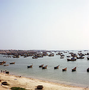 English: Mui Ne Harbor, Vietnam