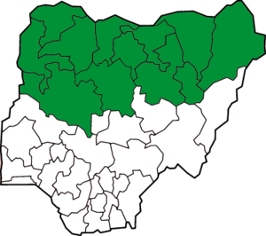 The 12 Nigerian states with Sharia law