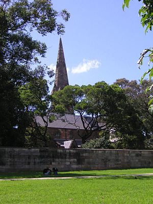 Newtown, Sydney, St Stephen's Church seen from...