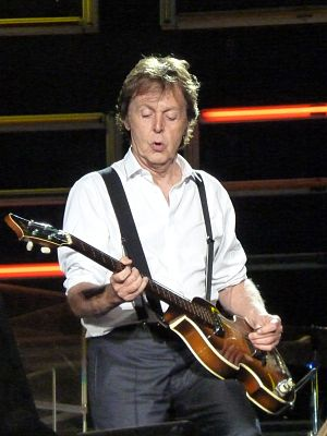 Paul McCartney performs in Dublin, Ireland on ...