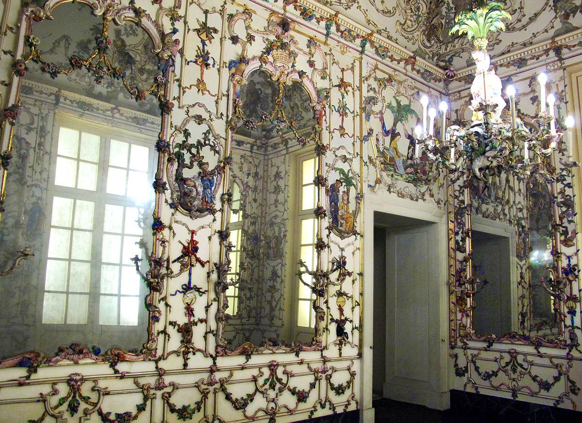 Salottino di porcellana di Maria Amalia di Sassonia