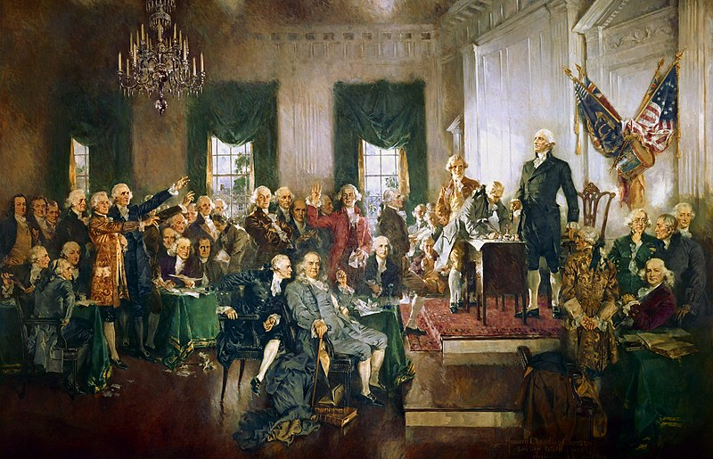 File:Scene at the Signing of the Constitution of the United States.jpg