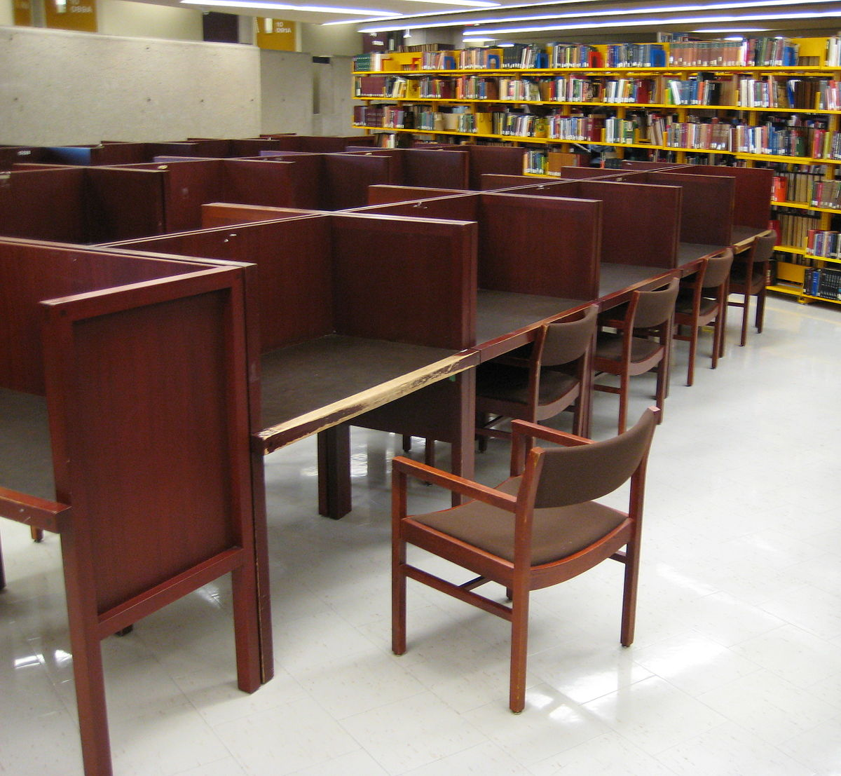 Carrel Desk