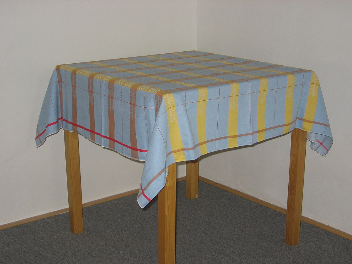 Tablecloth Wiktionary