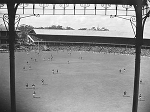 VFL Grand Final in 1945 at the Melbourne Crick...