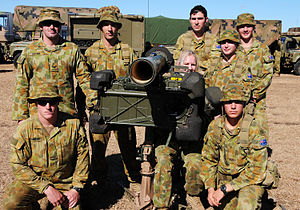 Personnel from the Army's 16th Air Defence Reg...