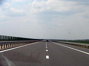 A2 highway, Romania