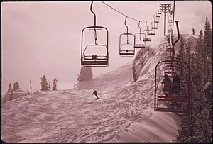 All the lifts at aspen are chairlifts. This on...