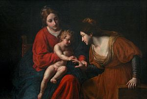 Matrimonio místico de Santa Catalina, Museo de...