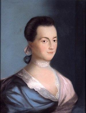 Abigail Adams by Benjamin Blythe, 1766