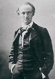 Baudelaire, fotograf�a de Nadar