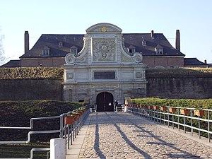 "Lille : Entrance of the ""Vauban Citadelle..."