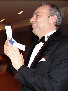 Constantin Sandu, in concert at the  GLRP.