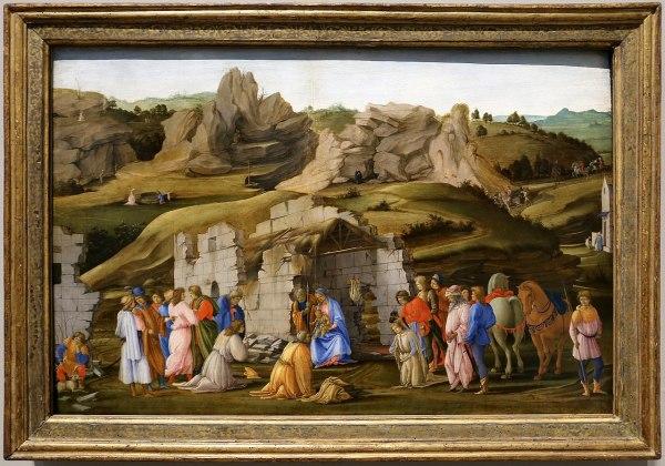 File Filippino Lippi Adorazione Dei Magi 1480 Ca