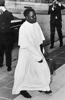 Fulbert Youlou en 1963.