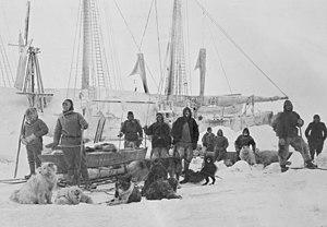 Photograph taken on 14 March 1895 as Nansen pr...