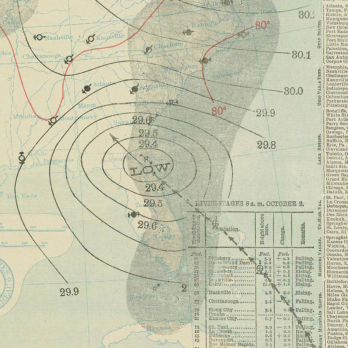 1898 Georgia hurricane  Wikipedia