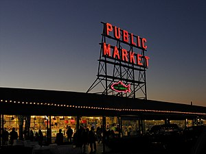 Pike Place Market, Seattle, Washington.