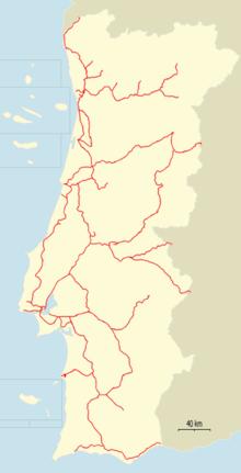 Aller Au Portugal En Train : aller, portugal, train, Transport, Ferroviaire, Portugal, Wikipédia
