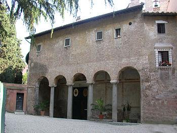 Chiesa di Santo Stefano Rotondo a Roma, portic...