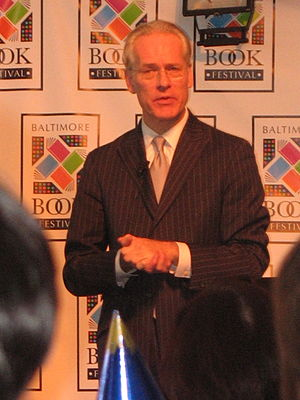 Tim Gunn at the Baltimore Book Festival