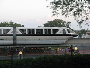 Monorail at Walt Disney World in Florida Monor...