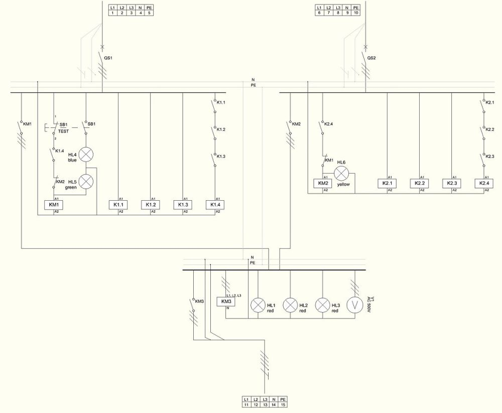 medium resolution of l t motor starter circuit diagram